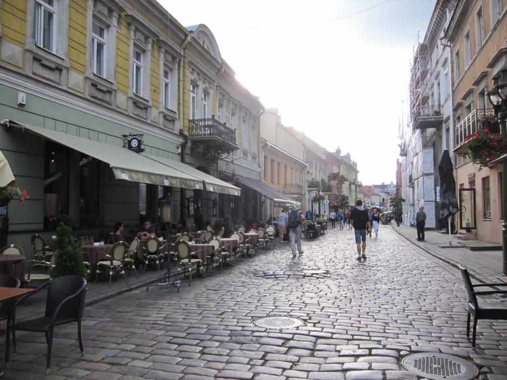 リトアニアの街並み