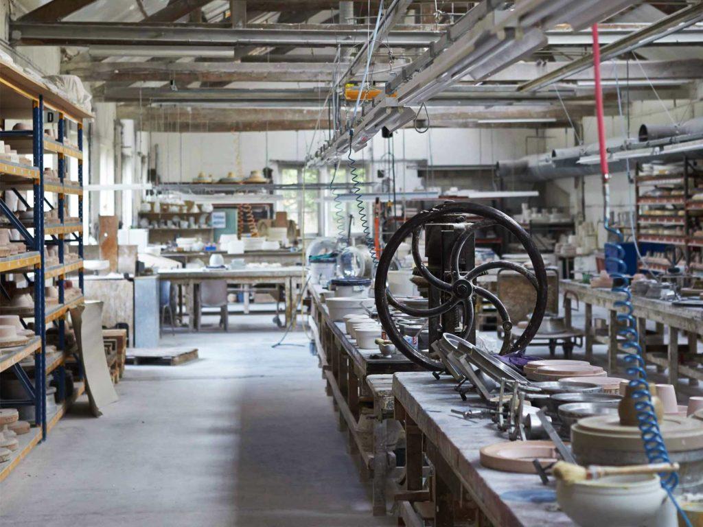 フランスのピリヴィッツの工場